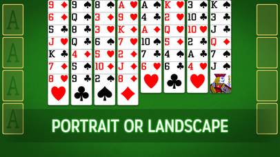 Screenshots of FreeCell Free for iPhone