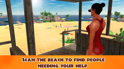 Beach Lifeguard Emergency Rescue 3D Full screenshot 2