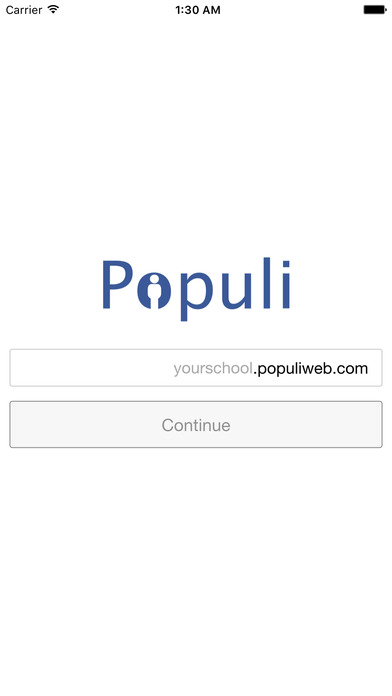 Populi iPhone Screenshot 1