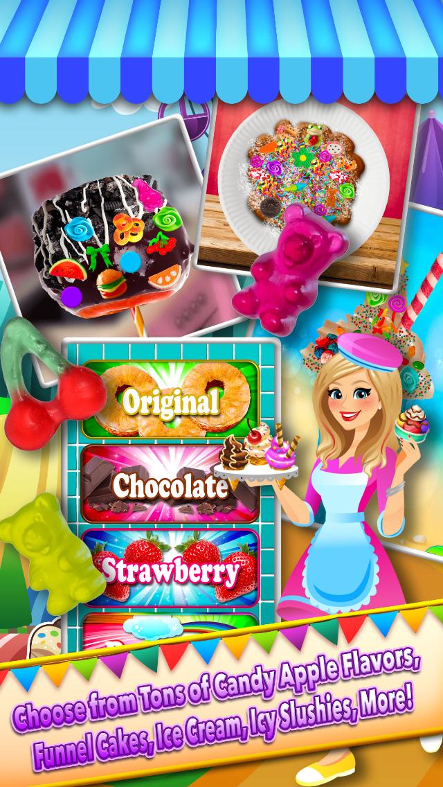 App Shopper Theme Park Fair Food Maker Amusement Parks