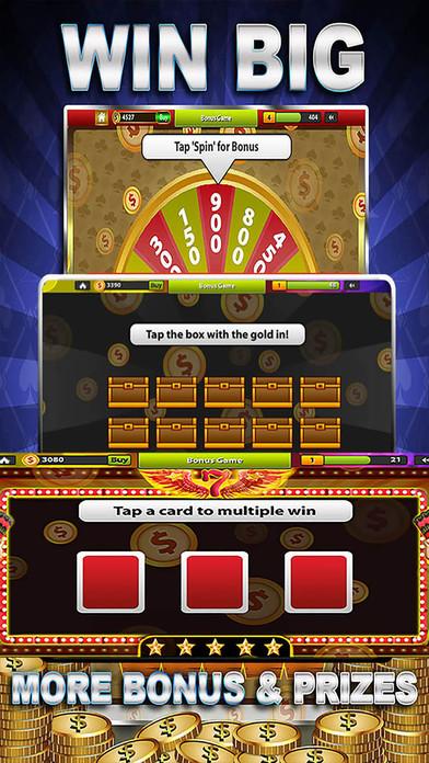 Screenshot 4 Awesome Casino Slots: HD Slot Infiniti Mega!!