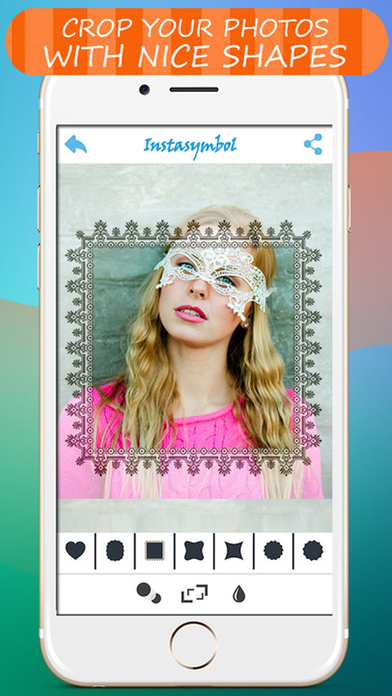 Pixina - Beautiful symbols to your images Screenshots