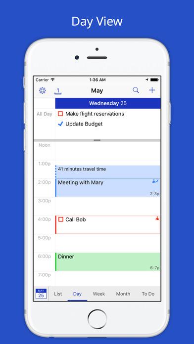 BusyCal - Calendar, Reminders & To Dos Screenshots