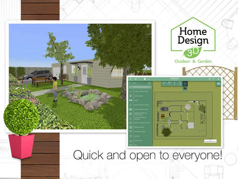Home Design 3D Outdoor and Garden Screenshots