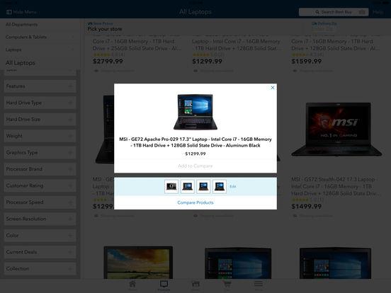Best Buy screenshot