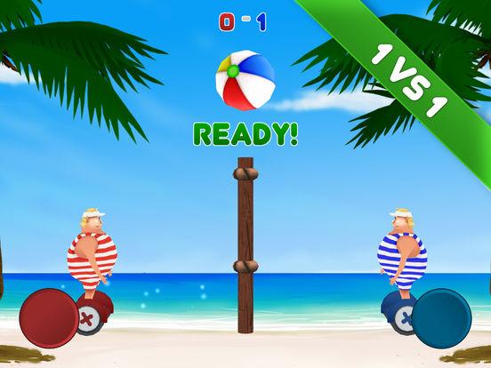 Volley Sumos - Two-player versus game Screenshots