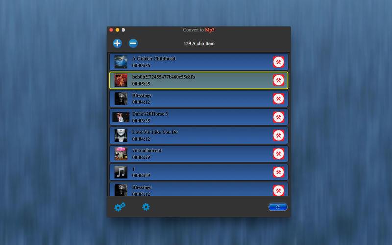 Convert to Mp3 Lite Screenshot - 1