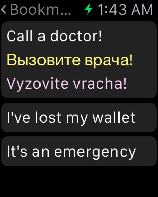 Russian Dictionary iPhone Screenshot 7