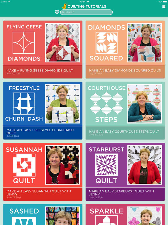 Quilting Tutorials by Missouri Star Quilt Company screenshot