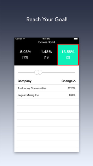 BooleanGrid: Instant Hedge Fund, Quantum Top Stock Picks Algorithm, for Trading and Tracking. Screenshots