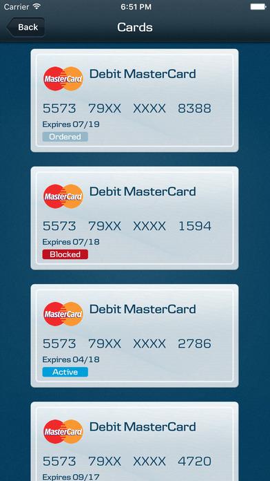 Northern Bank iPhone Screenshot 4