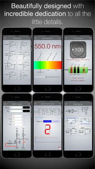 Electronics Engineering ToolKit PRO for iPhone Screenshots