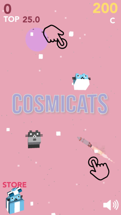 Cosmicats screenshot 1