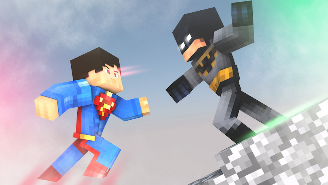 App Shopper Batman VS Superman Edition Skins For Minecraft PE - Skins para minecraft pe de batman