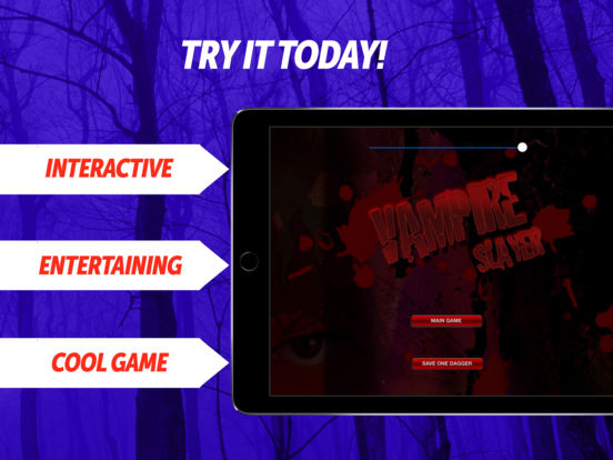 Undead Vampire Slayer iPad Screenshot 1