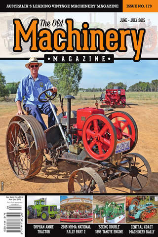The Old Machinery Magazine screen