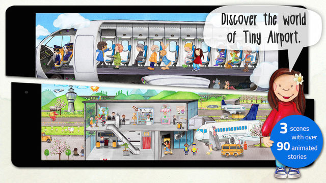Tiny Airport - Toddlers' Activity App Screenshots