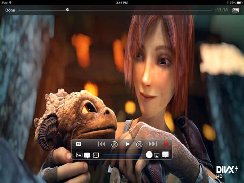 Azul Media Player - Video player for your iPad iPad Screenshot 2