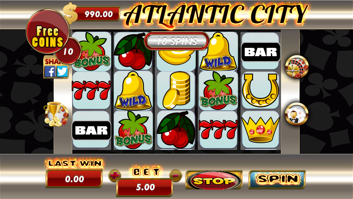 Atlantic city slots app