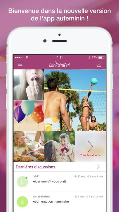 auFeminin.com iPhone Screenshot 1