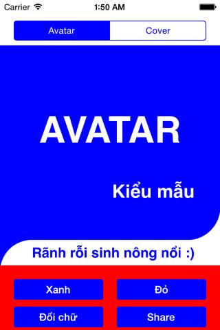 Avatar Kiểu Mẫu screenshot 1