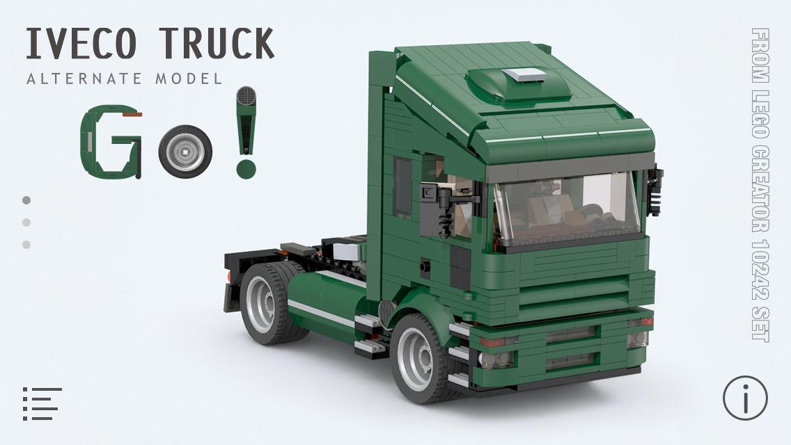 App Shopper Iveco Truck For Lego Creator 10242 Set Building