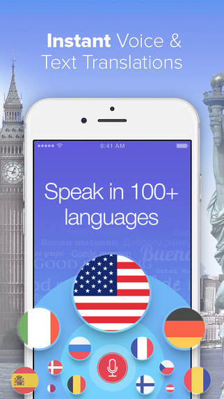 Voice Translator with Offline Dictionary - Speak and Translate Foreign Languages Instantly Screenshots