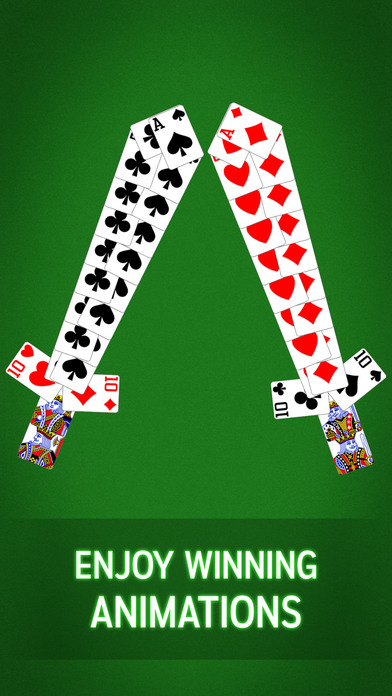 Screenshot 4 TriPeaks Solitaire by MobilityWare