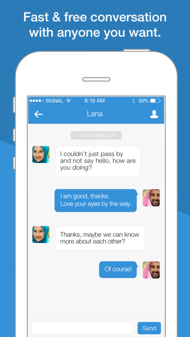 Screenshots of FREE Single Muslim Dating App - MuslimOnly for iPhone