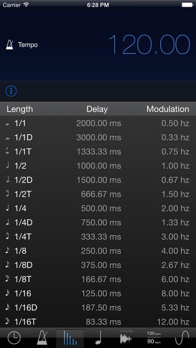 musicMath Touch - Music Calculator iPhone Screenshot 3