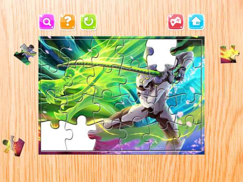 Мультфильм Головоломка - Головоломка Загадки Ящик для Overwatch героев - детей и малышей дошкольного обучения игры Скриншоты3