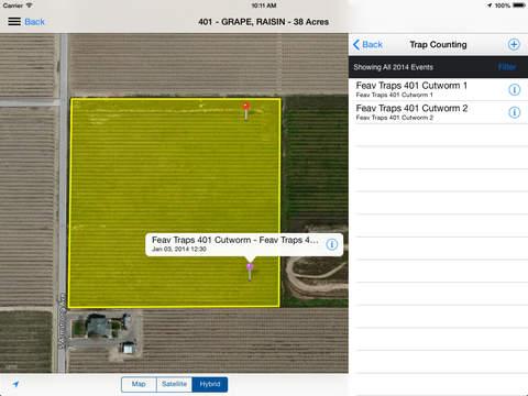 Agrian Mobile iPad Screenshot 2