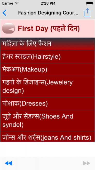 Fashion Designer Course In Hindi
