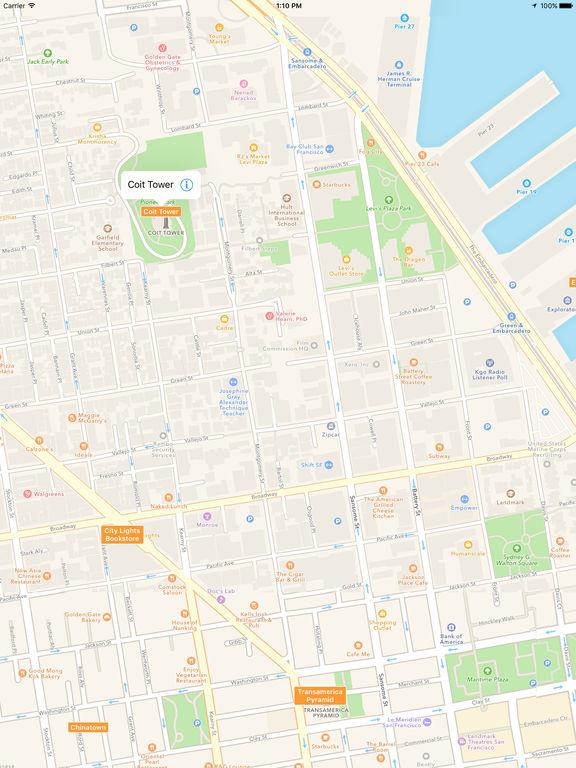 SF Visitor Map - San Francisco Tourist Map screenshot
