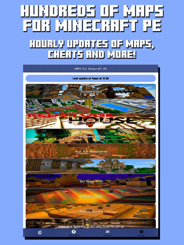 Maps for Minecraft PE - Best Database Maps for Pocket Edition screenshot