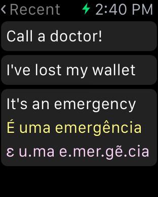 Portuguese Dictionary iPhone Screenshot 7