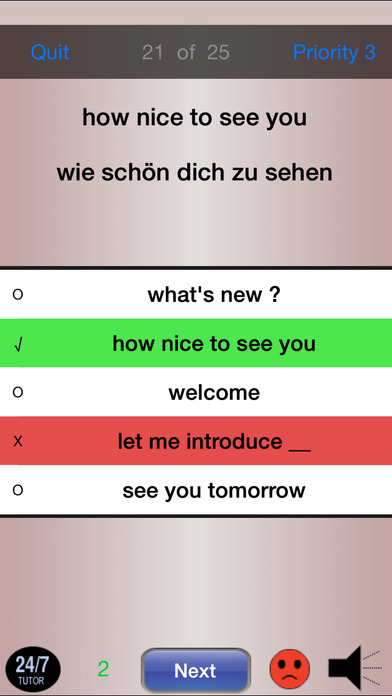 German 102 - Phrases iPhone Screenshot 4