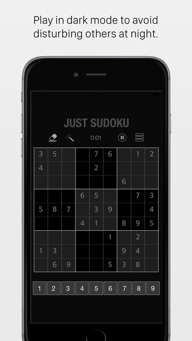 JustSudoku iPhone Screenshot 3