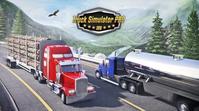 Truck Simulator PRO 2016 screenshot 1