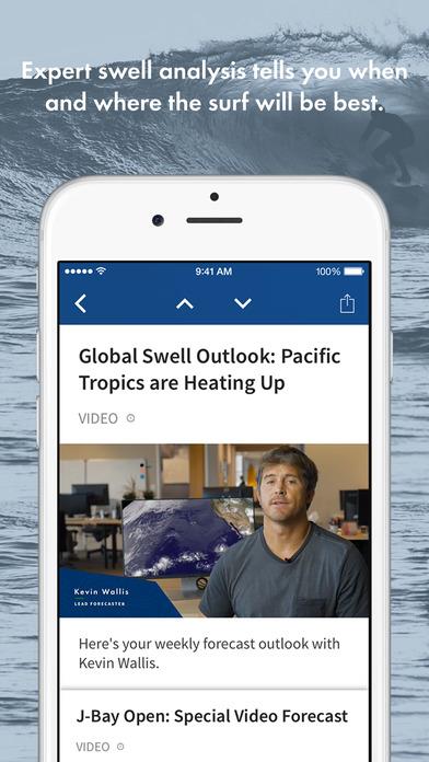 Surfline iPhone Screenshot 4