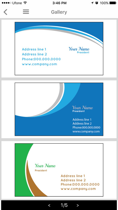App shopper free business card maker design mantic for App to make business cards