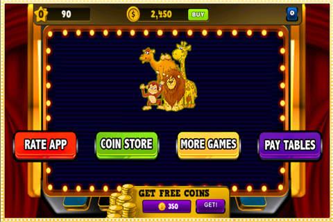 Big Golden Slots Of Animal: Casino Slots Machines Free! screen