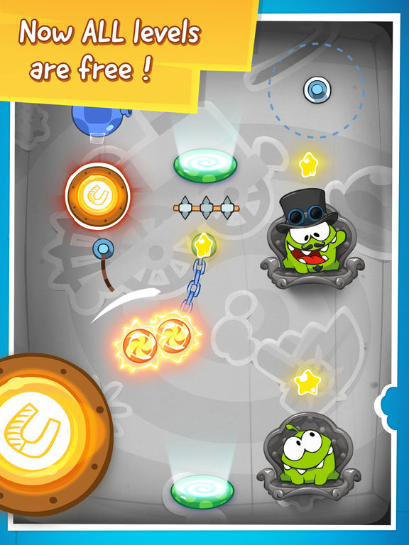 Screenshot #5 for Cut the Rope: Time Travel Free