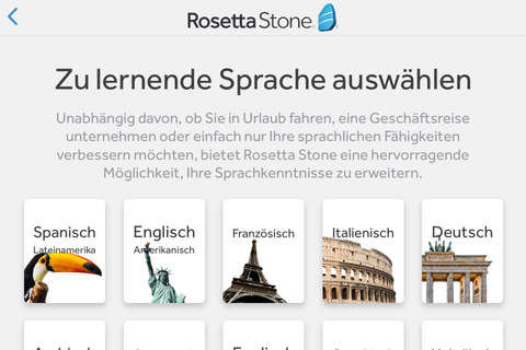 Rosetta Stone: Learn Language screenshot 1