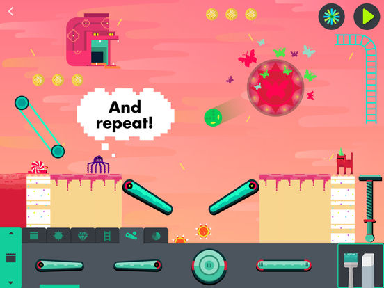 The Infinite Arcade by Tinybop Screenshots