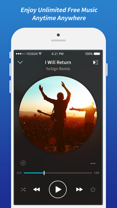 FancySound - Free Music Player & Cloud Song Stream-0