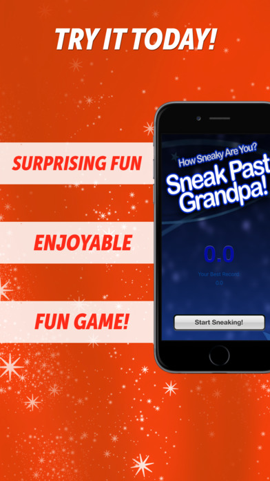 Sneak Past Grandpa! - Thief Game iPhone Screenshot 1