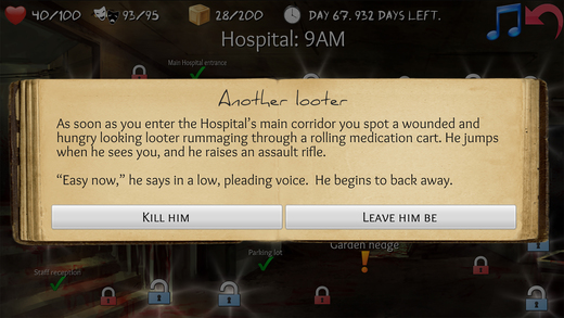 Overlive: Zombie Apocalypse Survival - The Interactive Story Adventure and Role Playing Game Screenshots
