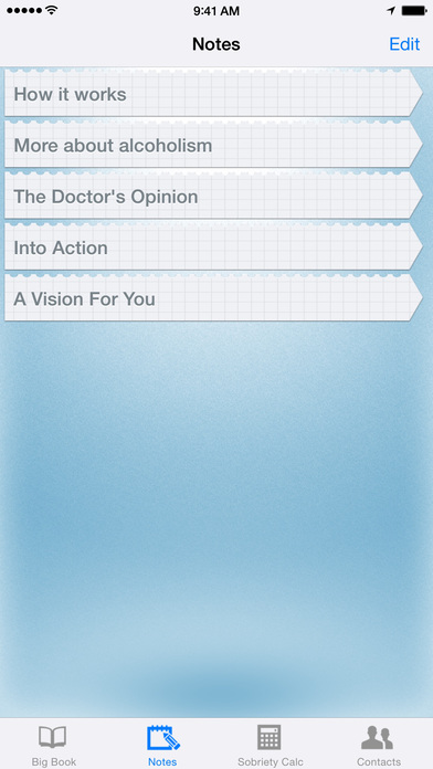12 Steps AA Companion - Alcoholics Anonymous iPhone Screenshot 5
