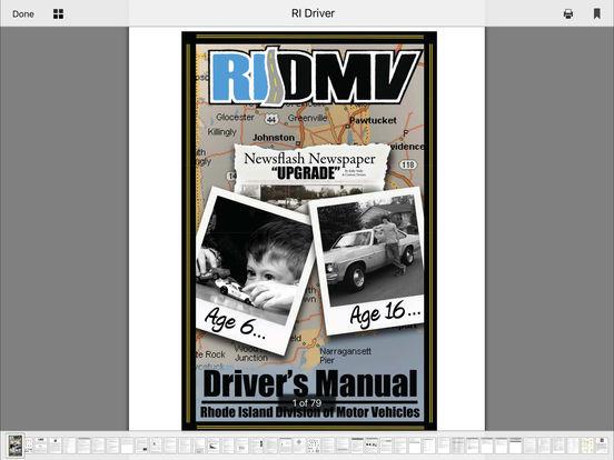 DMV Test Prep - Rhode Island iPad Screenshot 5